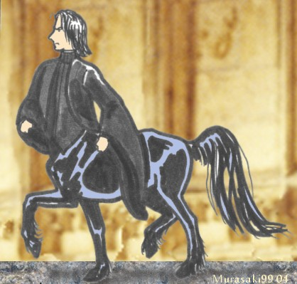 Professor Snape as a Centaur